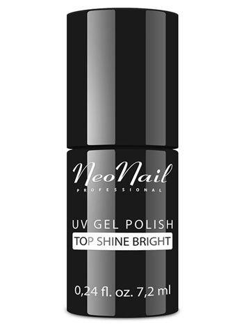 NeoNail Lakier Hybrydowy 6354 - TOP SHINE BRIGHT 7,2 ml
