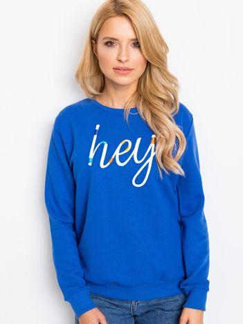Niebieska bluza Hey