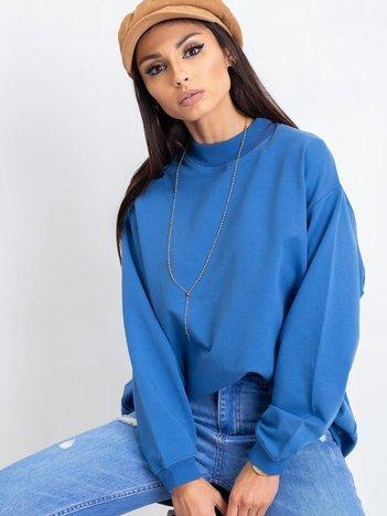 Niebieska bluza Twist