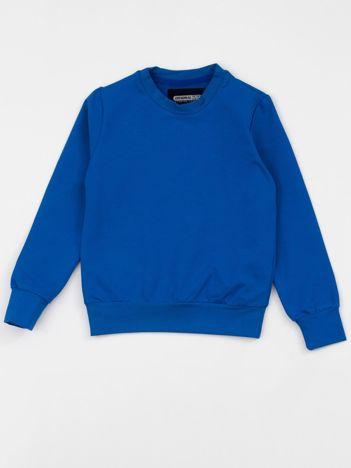 Niebieska bluza dziecięca basic