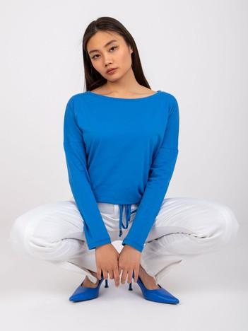 Niebieska bluzka Carla