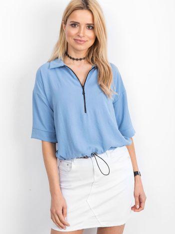 Niebieska bluzka Hokum