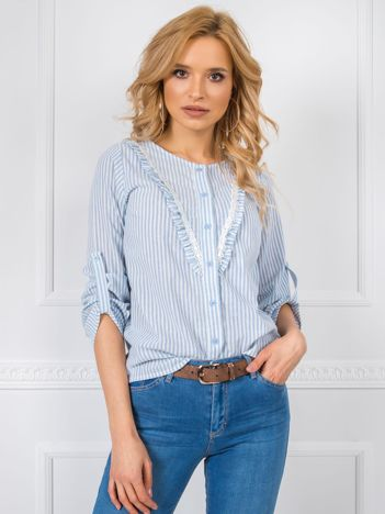 Niebieska bluzka Isabel RUE PARIS