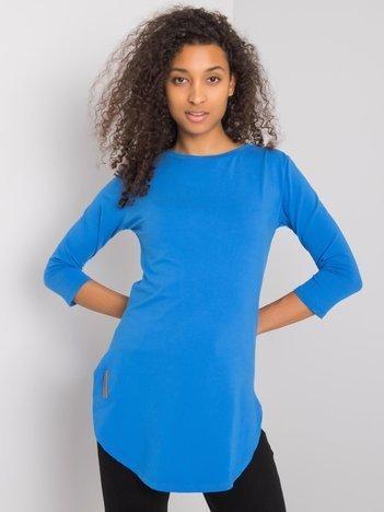 Niebieska bluzka na co dzień Nataly