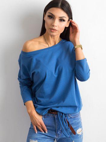 Niebieska bluzka z bawełny