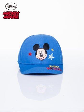 Niebieska chłopięca czapka z daszkiem MYSZKA MIKI