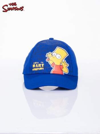 Niebieska chłopięca czapka z daszkiem SIMPSONOWIE