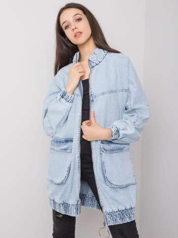 Niebieska damska kurtka jeansowa Seraphina RUE PARIS