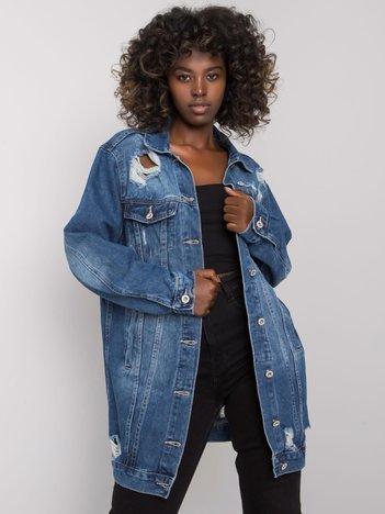 Niebieska damska kurtka jeansowa Shavit