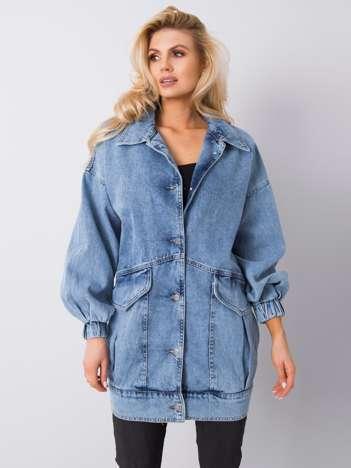 Niebieska kurtka jeansowa Ankita RUE PARIS