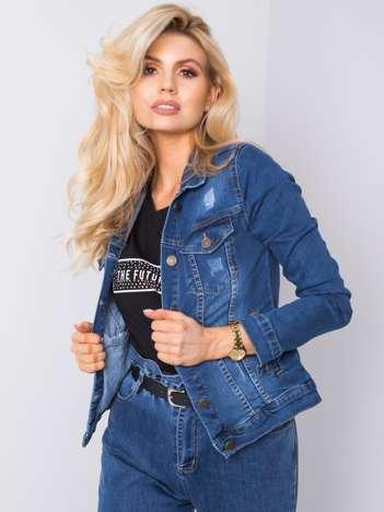 Niebieska kurtka jeansowa Erina RUE PARIS