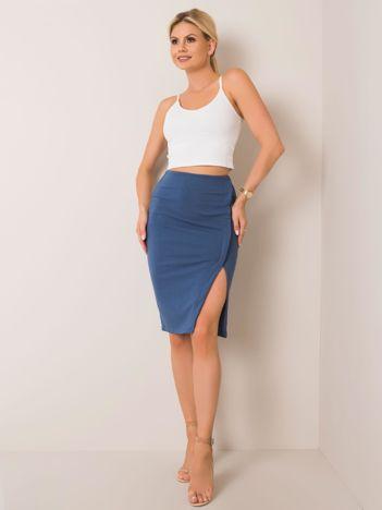 Niebieska spódnica Vanessa RUE PARIS