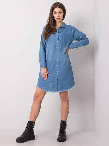 Niebieska sukienka Brindisi RUE PARIS