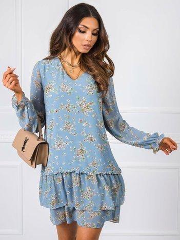 Niebieska sukienka Gwen RUE PARIS