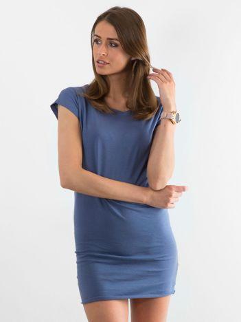 Niebieska sukienka Limousine