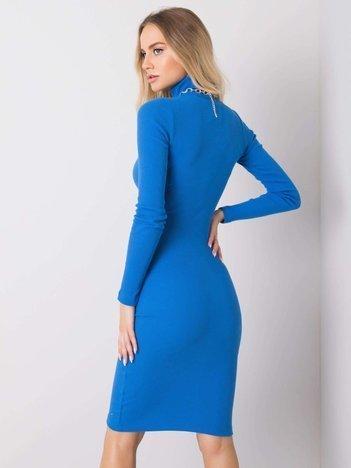Niebieska sukienka Livia RUE PARIS