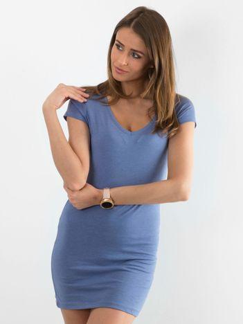Niebieska sukienka Privilage