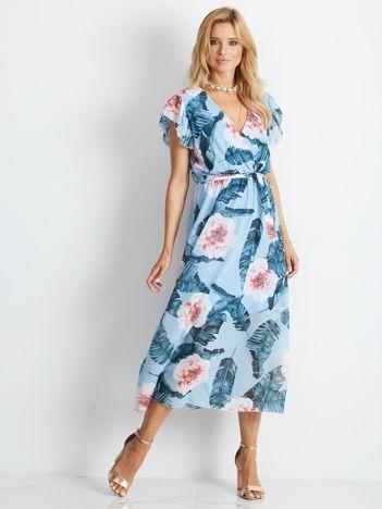 Niebieska sukienka Quaint