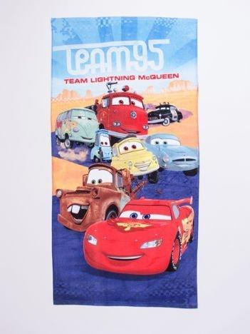 Niebieski chłopięcy ręcznik CARS
