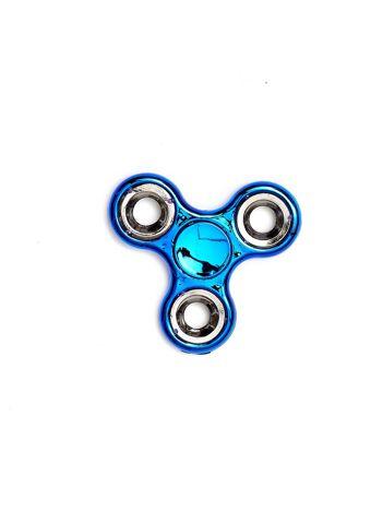 Niebieski klasyczny metalowy hand fidget spinner