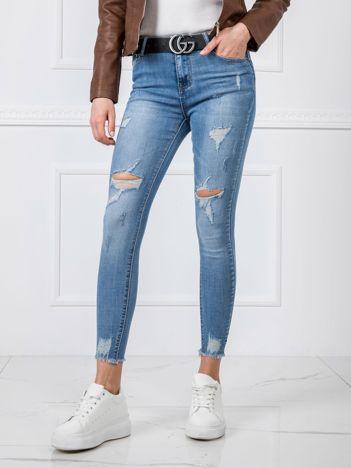 Niebieskie dżinsy Melissa