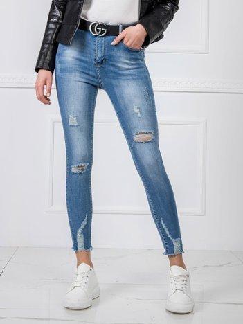 Niebieskie dżinsy Shirley