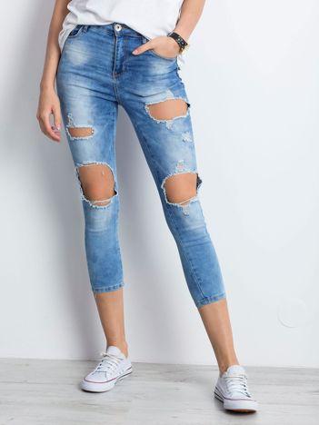 Niebieskie jeansy Branch