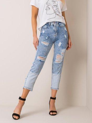 Niebieskie jeansy Casey RUE PARIS