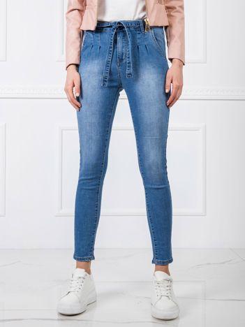 Niebieskie jeansy Elodie