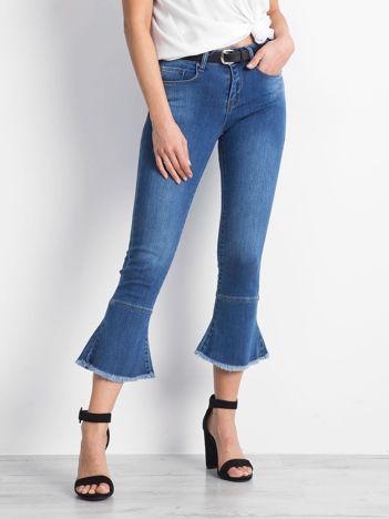 Niebieskie jeansy Emblematic