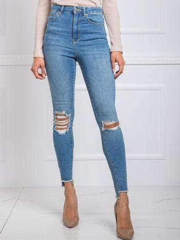 Niebieskie jeansy Kimmi RUE PARIS