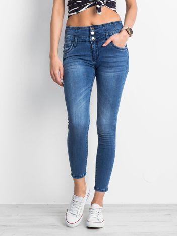 Niebieskie jeansy Removable