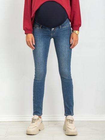 Niebieskie jeansy Sheer