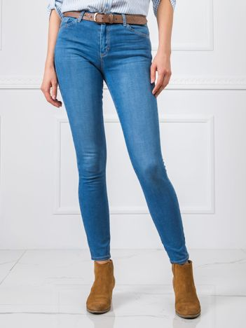 Niebieskie jeansy Verona RUE PARIS