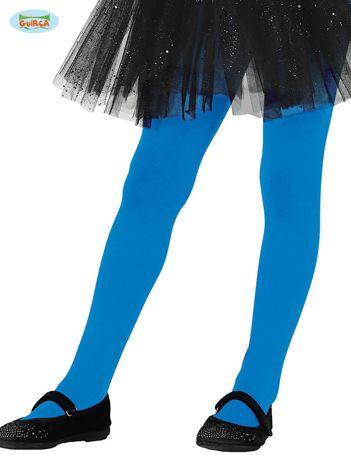 Niebieskie rajstopy dla dziewczynki