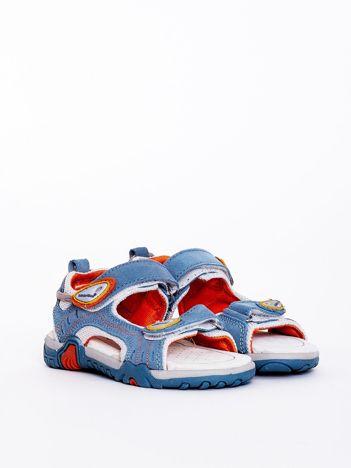 Niebieskie sandały dziecięce