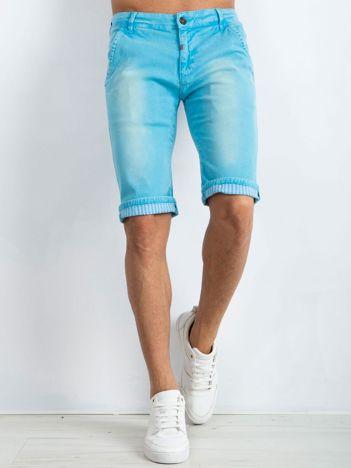 Niebieskie spodenki męskie Austin