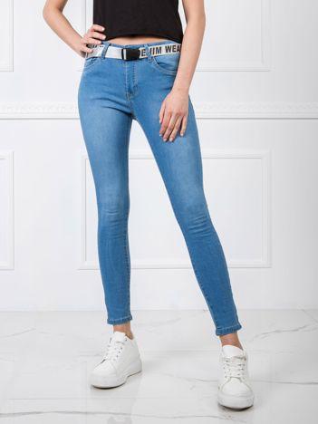 Niebieskie spodnie Priscilla