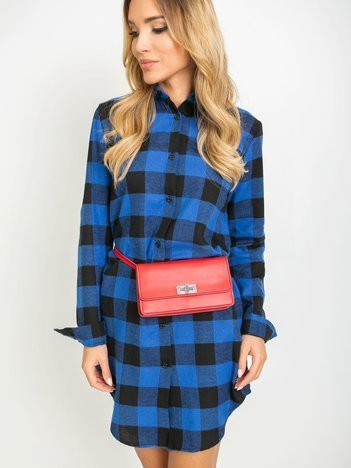 Niebiesko-czarna sukienka Florence