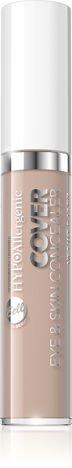 Nowość! BELL HYPOAllergenic Hypoalergiczny korektor kamuflujący COVER EYE&SKIN CONCEALER 30