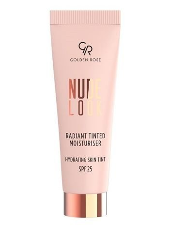 Nowość! GOLDEN ROSE Nude Look Koloryzujący krem z efektem rozświetlenia nr 01 Fair Tint  32 ml
