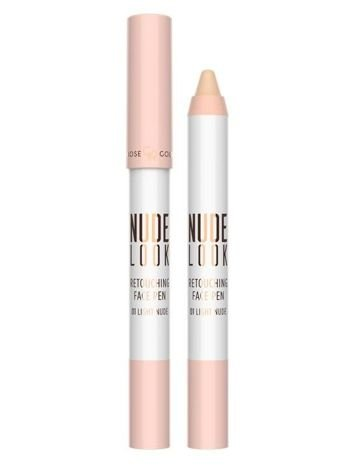 Nowość! GOLDEN ROSE Nude Look Korektor do twarzy w kredce nr 01 Light Nude 4 g