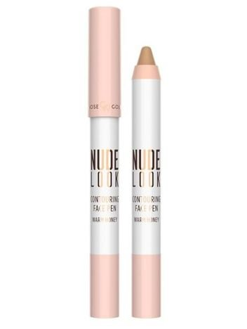 Nowość! GOLDEN ROSE Nude Look Kredka do konturowania twarzy Warm Honey 4 g