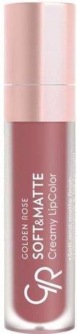 Nowość!!! GOLDEN ROSE Soft & Matte Creamy Lip Color matowa pomadka 111 5,5 ml