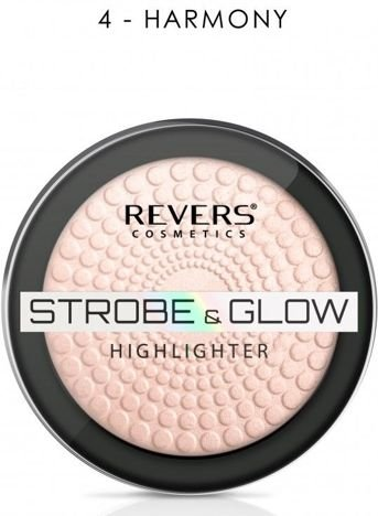 Nowość! REVERS Rozświetlacz STROBE & GLOW HIGHLIGHTER 04 HARMONY 8 g