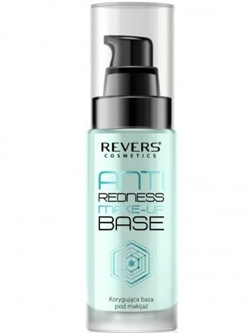 Nowość! Revers ANTI REDNESS MAKE-UP BASE Korygująca baza pod makijaż 30 ml