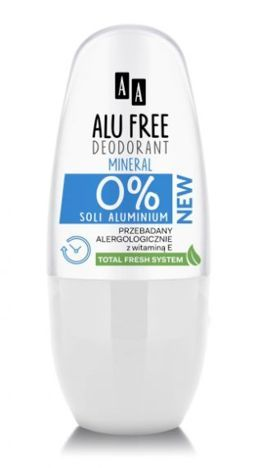 OCEANIC AA ALU FREE Dezodorant Bez Soli Aluminium Mineral 50 ml