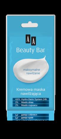 OCEANIC AA BEAUTY BAR Kremowa maska nawilżająca 8 ml