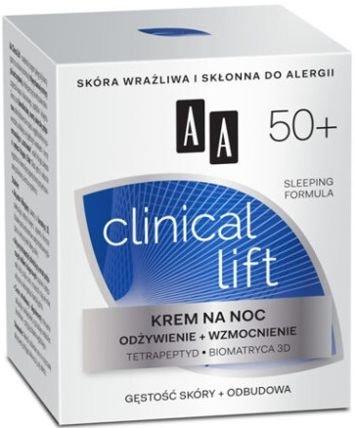OCEANIC AA CLINICAL LIFT 50+ Krem na noc odżywienie+wzmocnienie 50 ml