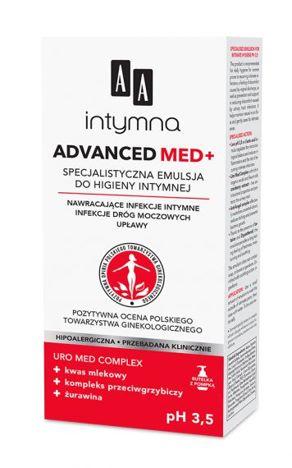 OCEANIC AA INTYMNA MED Advanced pH 3,5 Specjalistyczna emulsja do higieny intymnej dozownik 300 ml